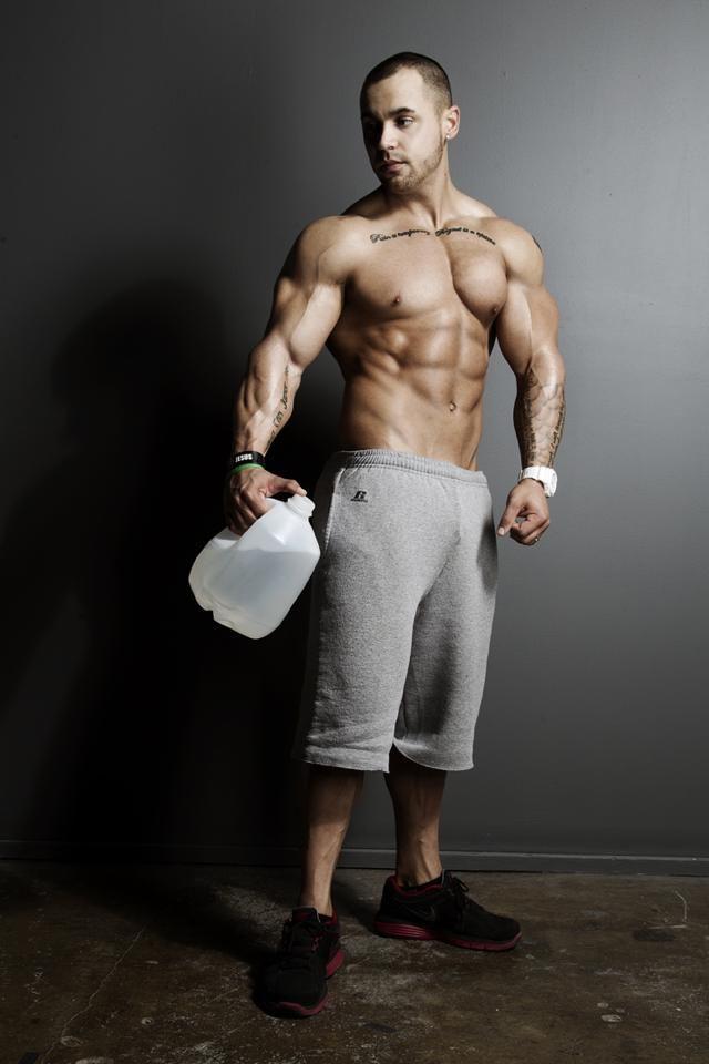 Image result for bodybuilder jug