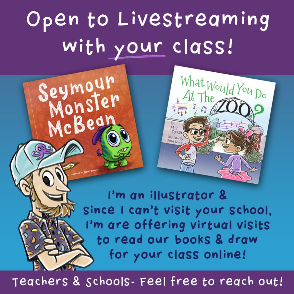 Events - Virtual Online Classroom visits from a children's ...