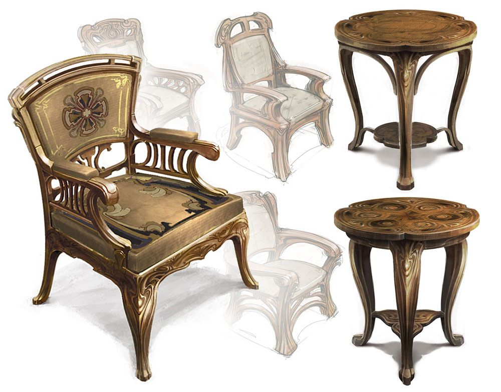 Map Room Chairs - Movie: The Chronicles of Narnia: The Voyage of the Dawn Treader
