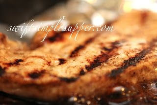 Grilled Balsamic Turkey Cutlets | Swift Simple Supper