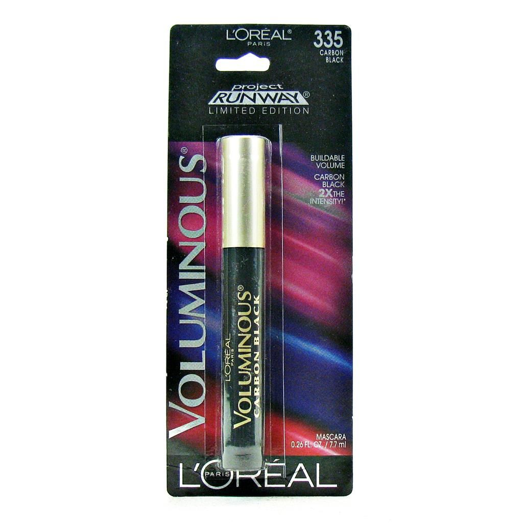 90a8c267571 L'Oreal Paris Voluminous Power Volume 24H Mascara, 696 Blackest Black, 0.33  Fluid Ounce/(10ml)