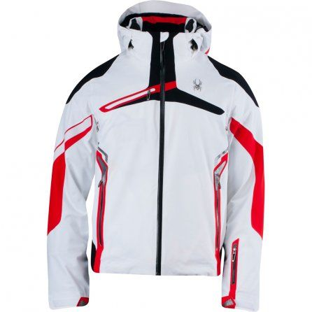 826edf1a89 Spyder Alps Insulated Ski Jacket (Men s) - White Volcano Black ...