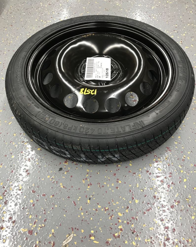Maxxis Chevrolet Cruze Part T115 70 D16 92m Spare Donut Tire Wheel Assembly Maxxis Cruze Chevrolet Cruze