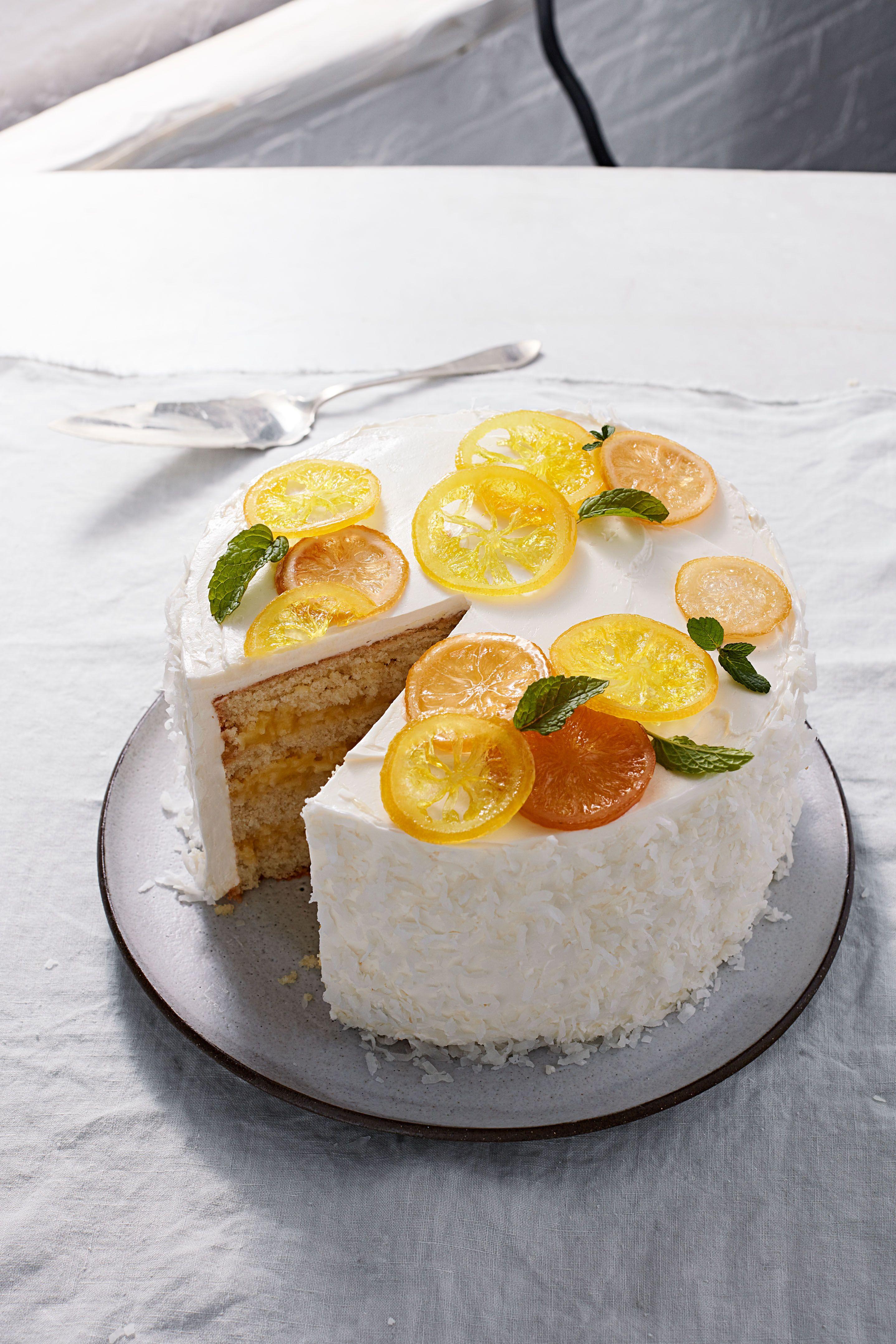 Our most beautiful lemon recipes in 2020 lemon cake