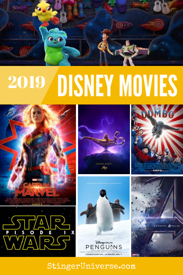 A new year brings new Disney movies. And Marvel and Pixar