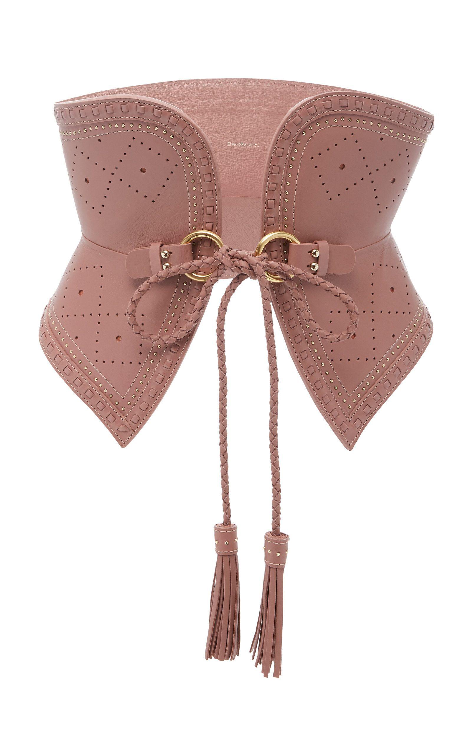 Corset Tie Belt By Zimmermann For Preorder On Moda Operandi In