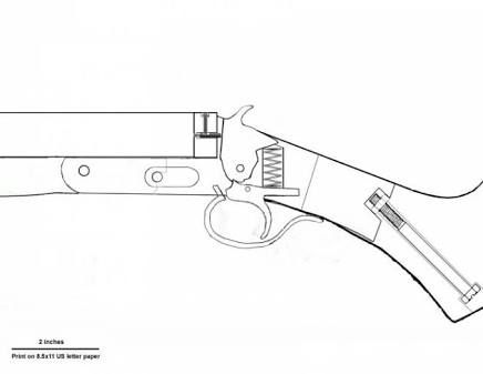 Hasil gambar untuk rubberbandgunfreeplans  Gun