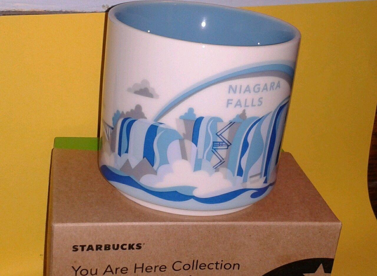 new starbucks niagara falls you are here series coffee mug starbucks coffee and starbucks coffee. Black Bedroom Furniture Sets. Home Design Ideas