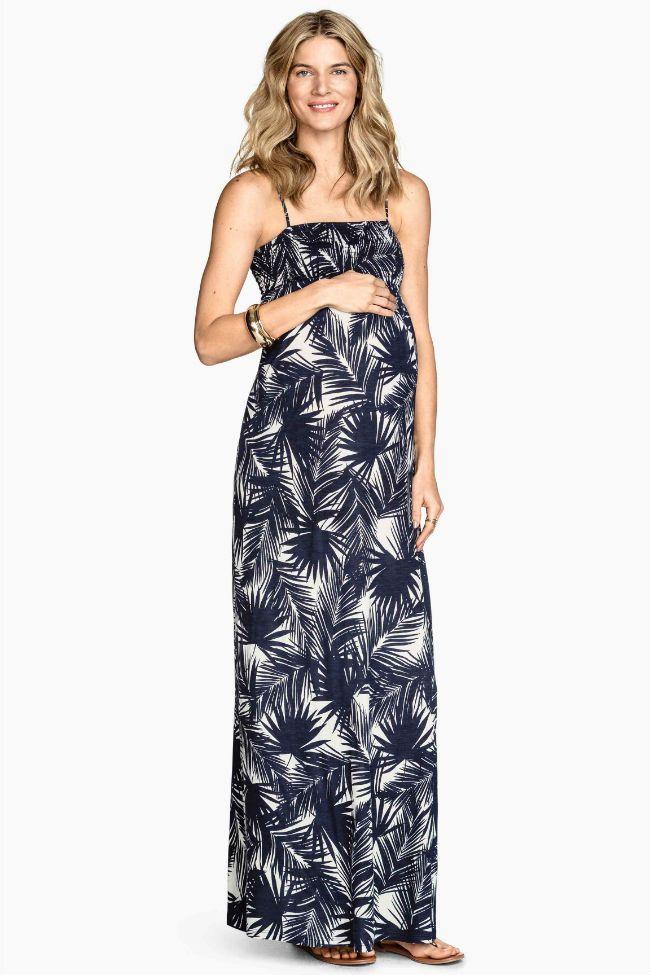 093ac9793664 Vestidos premamá en la colección primavera verano 2015 de H&M | H&M ...
