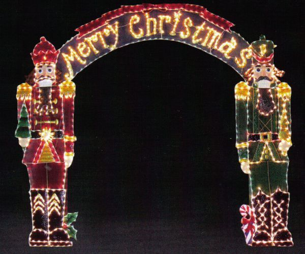 Merry Christmas Arch | Christmas | Pinterest
