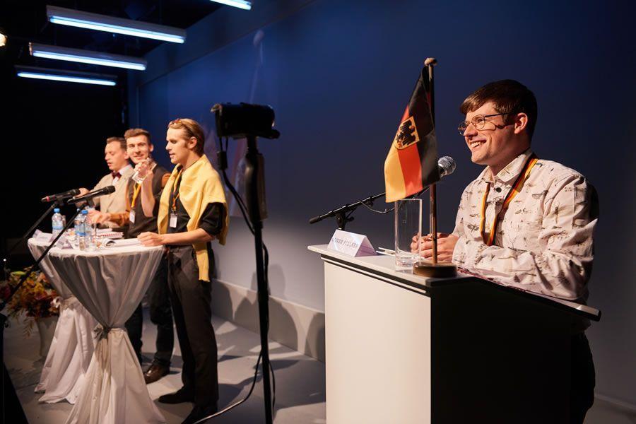 »Die Lächerliche Finsternis« Frederik Schmid, Patrick Gees, Gabriel von Berlepsch und Benedikt Kauff