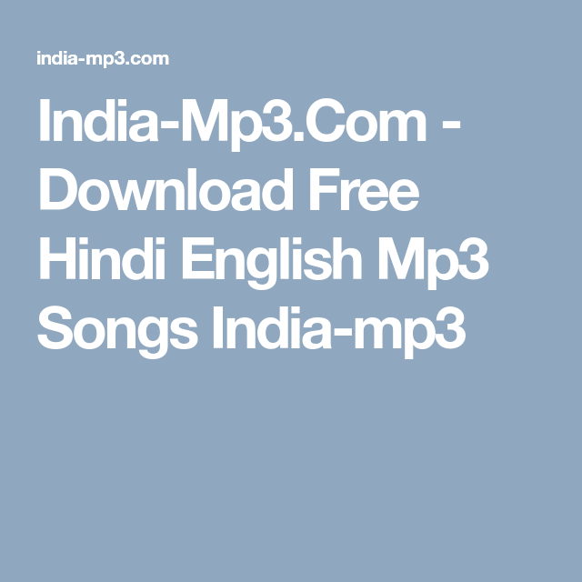 download free music mp3 songs english