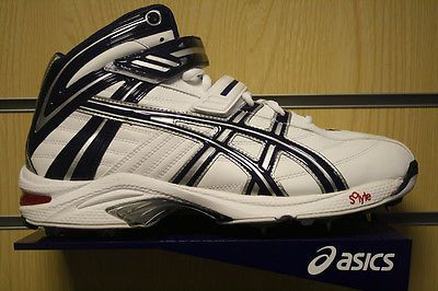 *new* asics gel-8 for 64 high ankle #cricket #bowling boots