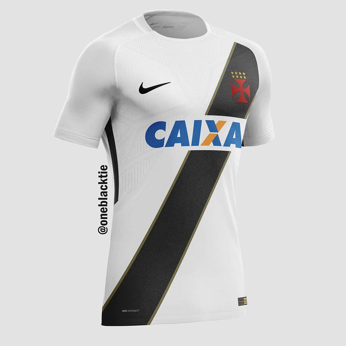 5c341a6cae425 Designer cria camisas de clubes brasileiros inspiradas na Nike - Parte 02 -  Show de Camisas