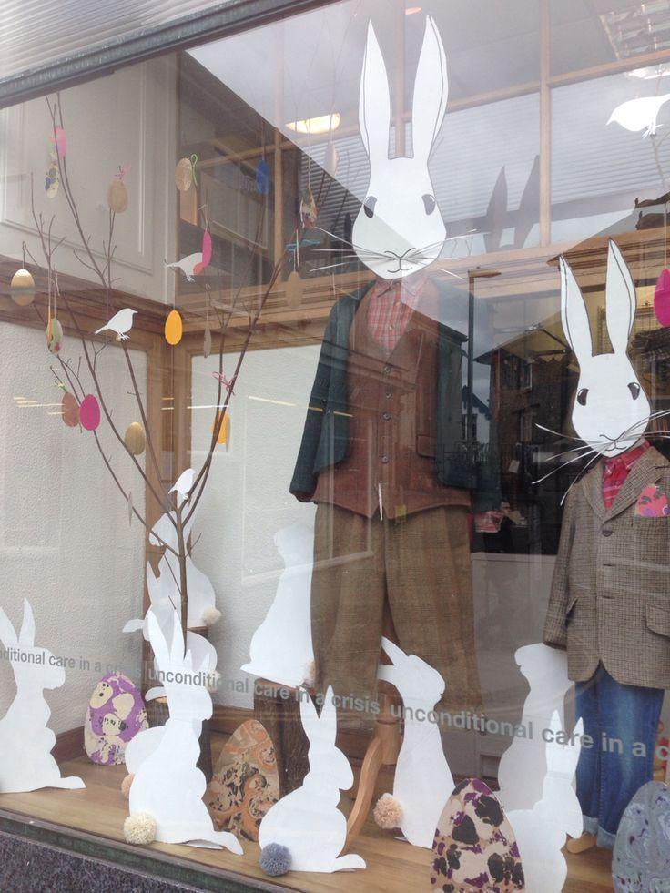 Easter Display Installation Pinterest Schaufenster