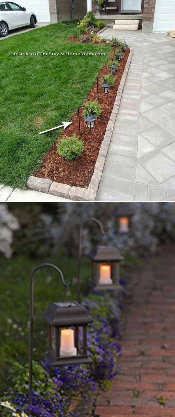 Garden decor craft ideas  Top  Ideas Adding DIY Backyard Lighting for Summer Nights