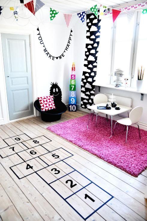 10 fa ons d 39 actualiser un plancher sans le changer salle de jeux pour enfants jeu pour - Salle de jeux pour enfants ...