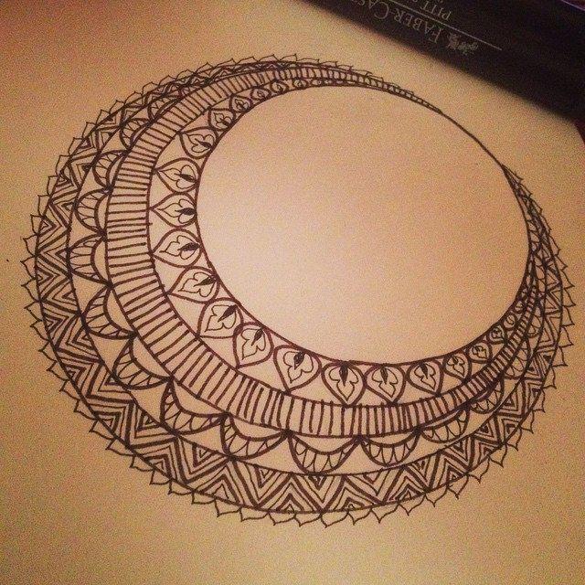 Mehndi Zentangle : Cool henna zentangle makedes