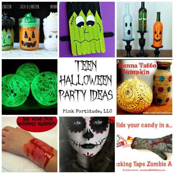 Teen Halloween Party Ideas (that aren\u0027t lame Teen halloween party - halloween party ideas for teenagers