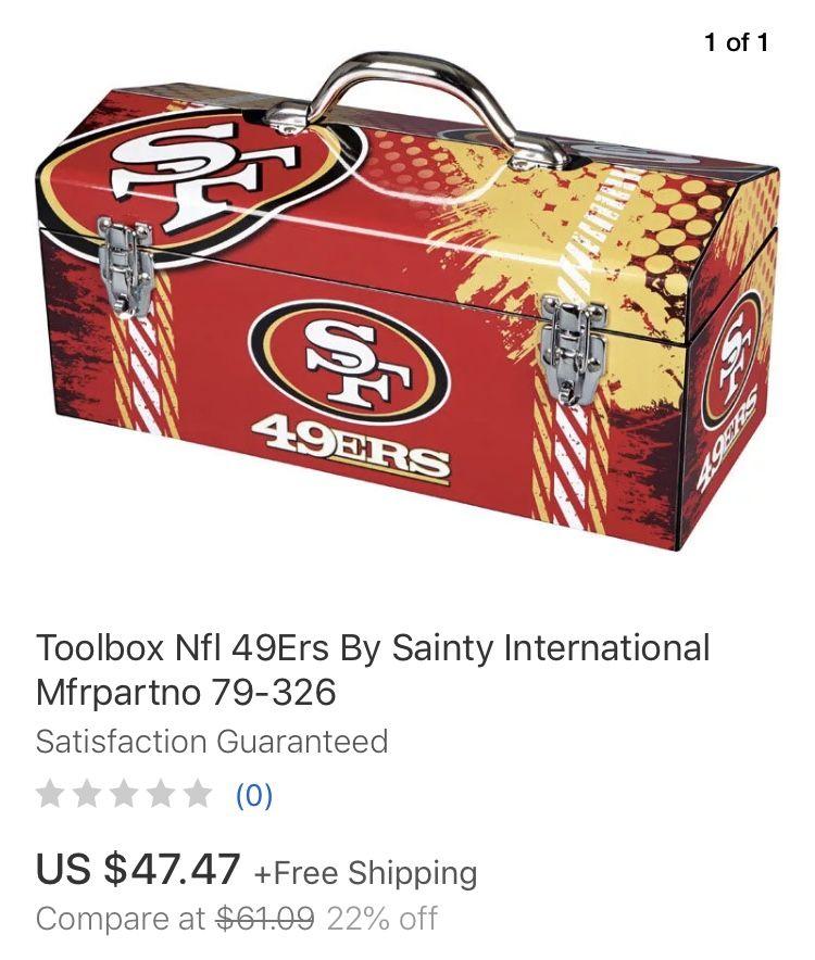 49ers toolbox on eBay | Tool box. Nfl 49ers. Ebay
