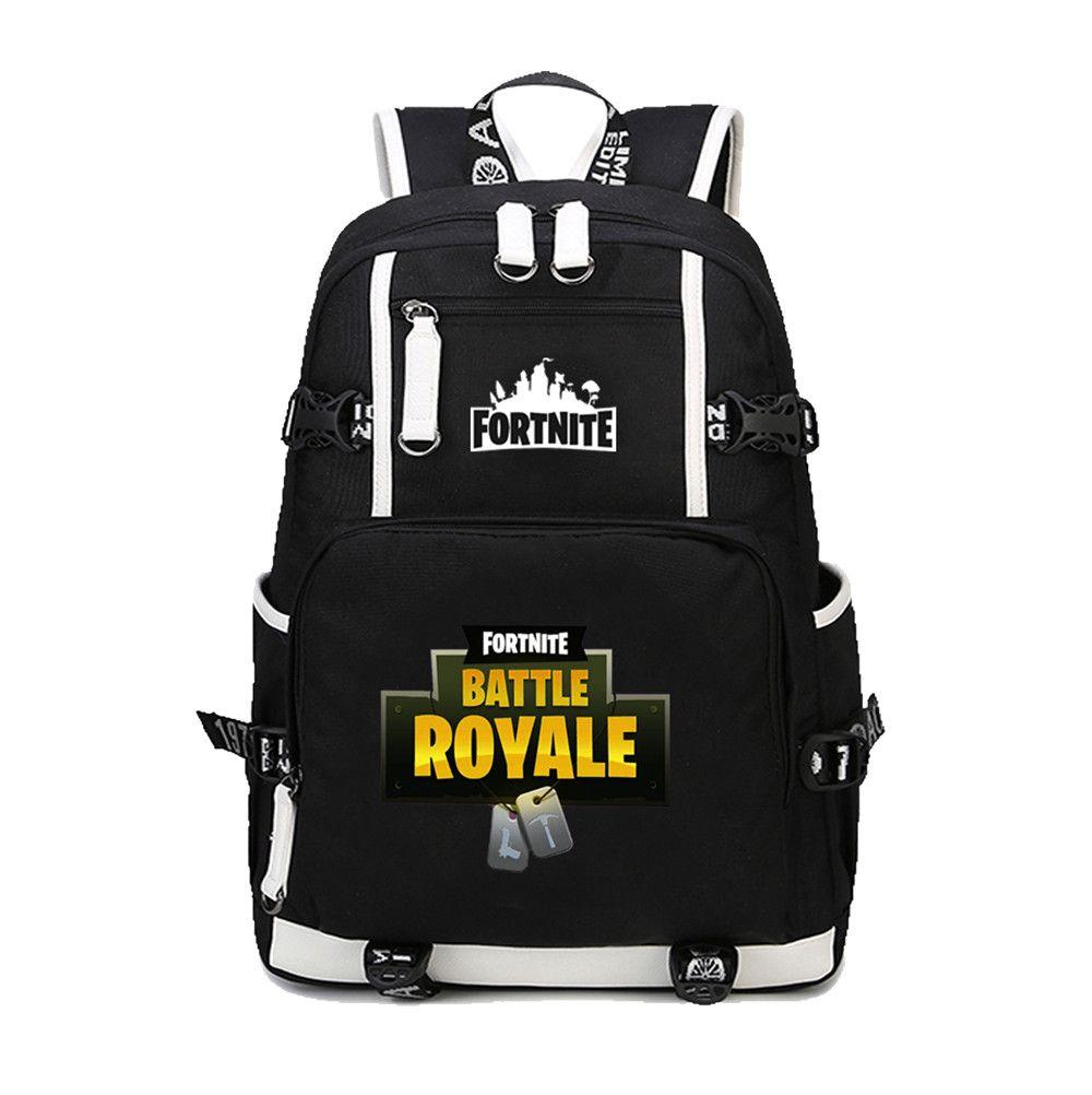 0b260cf587452 Tanie: 2018 nowy Fortnite Bitwa Royale nastolatki plecak School book Torba  mężczyzna kobiet torba na