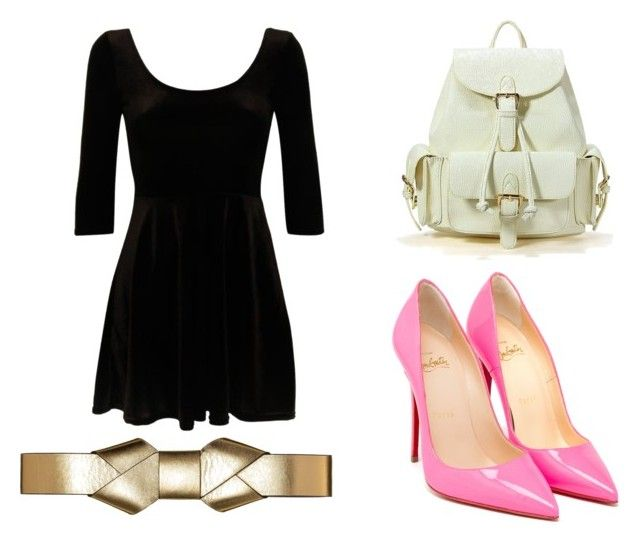 """#1"" by gellergirl on Polyvore featuring Christian Louboutin and Marni"