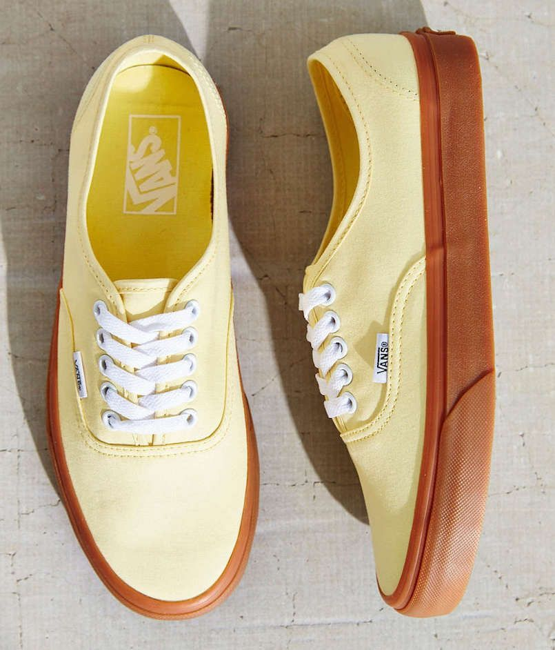 76db3ba2d5 vans brushed twill authentic sneakers urban outfitters