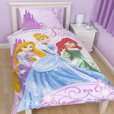 Sparkle Single Bedding Panel Print From Our Disney Princess Range At Children S Rooms Http Www Disney Princess Bedroom Single Duvet Cover Single Duvet