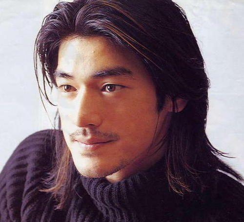 hairstyles men long asian