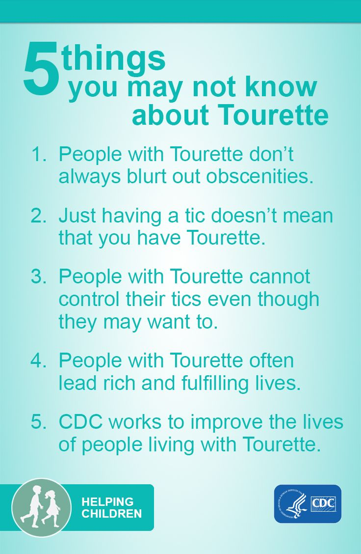 Should My Son With Tourettes Syndrome >> 5 Things About Tourette Healthy Living Pandas Syndrome Chronic