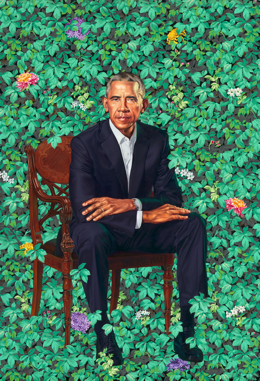 POTUS BARACK OBAMA\'S OFFICIAL WHITE HOUSE PORTRAIT. | POTUS & FLOTUS ...
