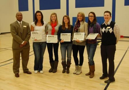 5 Lady Wildcats Earn Uscaa All Academic Honors Women Volleyball Volleyball Team Johnson Wales University