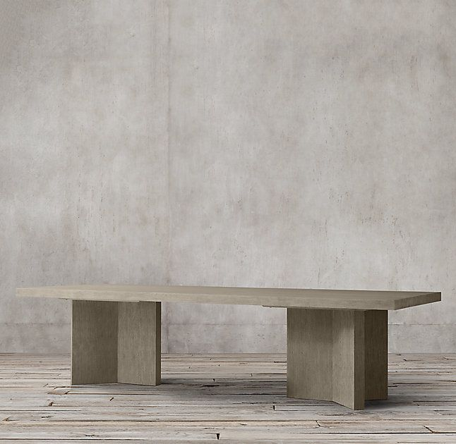Rh S Ludlow Rectangular Dining Table Designed By Richard Forwood Our Takes Inspiration