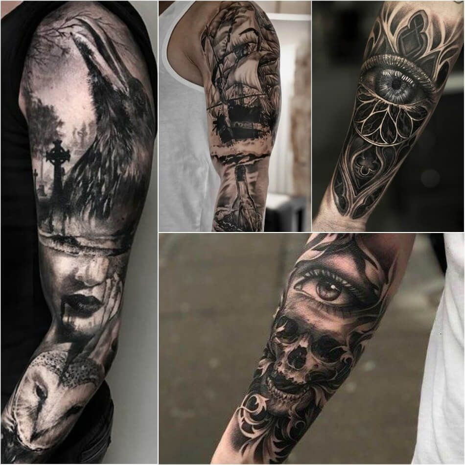 Realism Tattoo Sleeve: Incredibly Realistic Tattoos Ideas