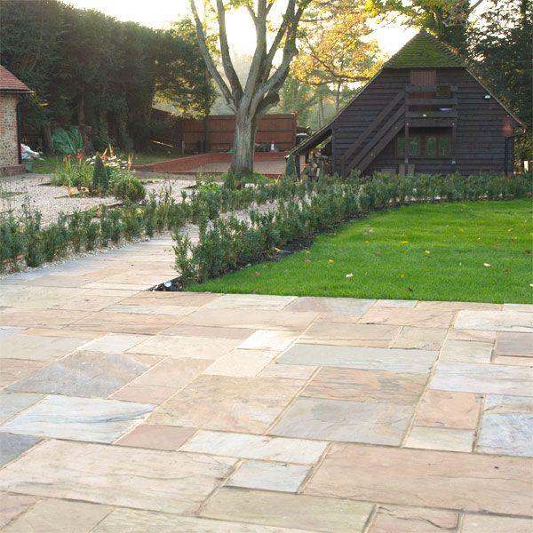 Saxon Swirl Sandstone makes the perfect patio | GreenGardenPaving ...