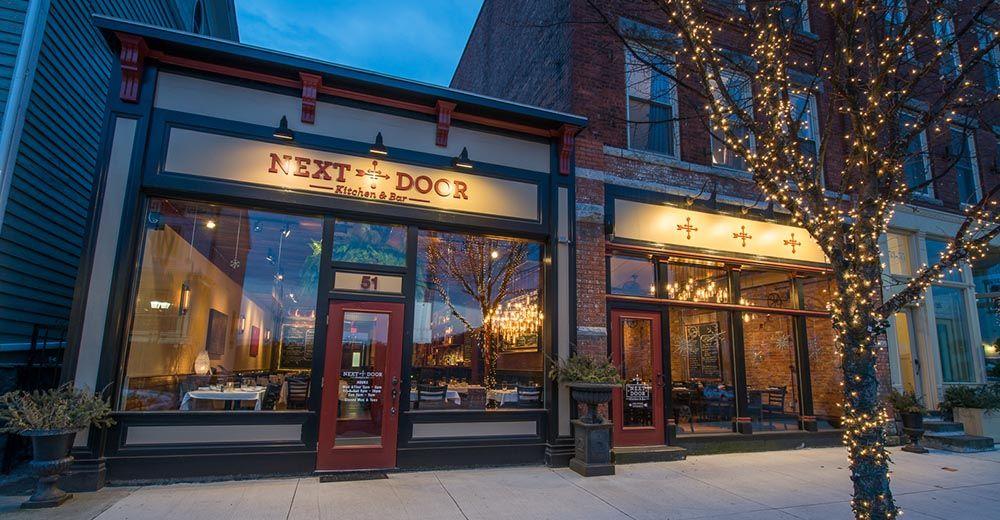 Next Door Kitchen Bar Restaurant Ballston Spa Saratoga Springs Restaurant Bar Ballston Spa Kitchen Bar