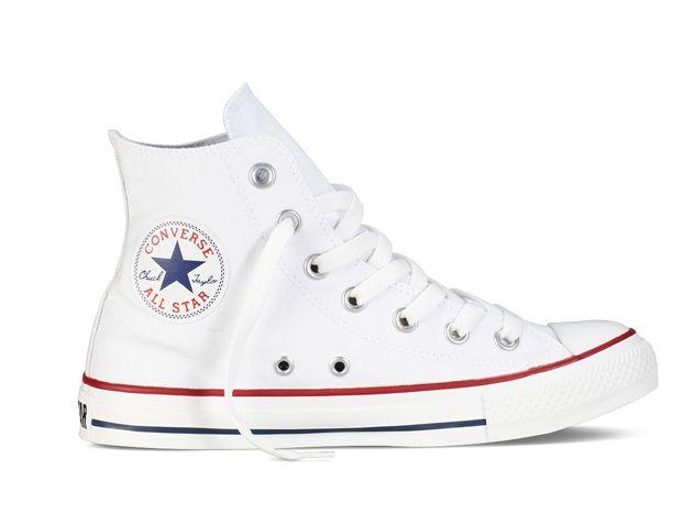 Converse unisex Chuck Taylor All Star Core HI Optical White   The ... 7a8a283903
