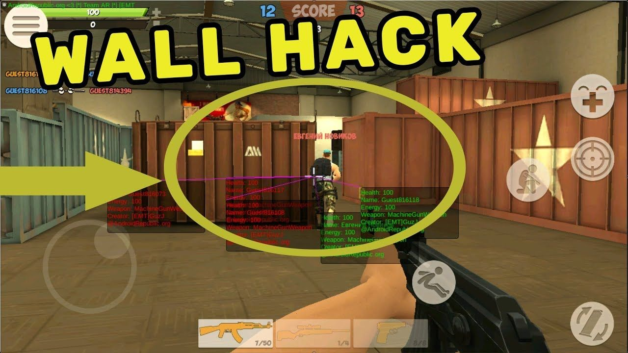 Contra City Online 0 9 6 Hack Wall Hack No Root With Images
