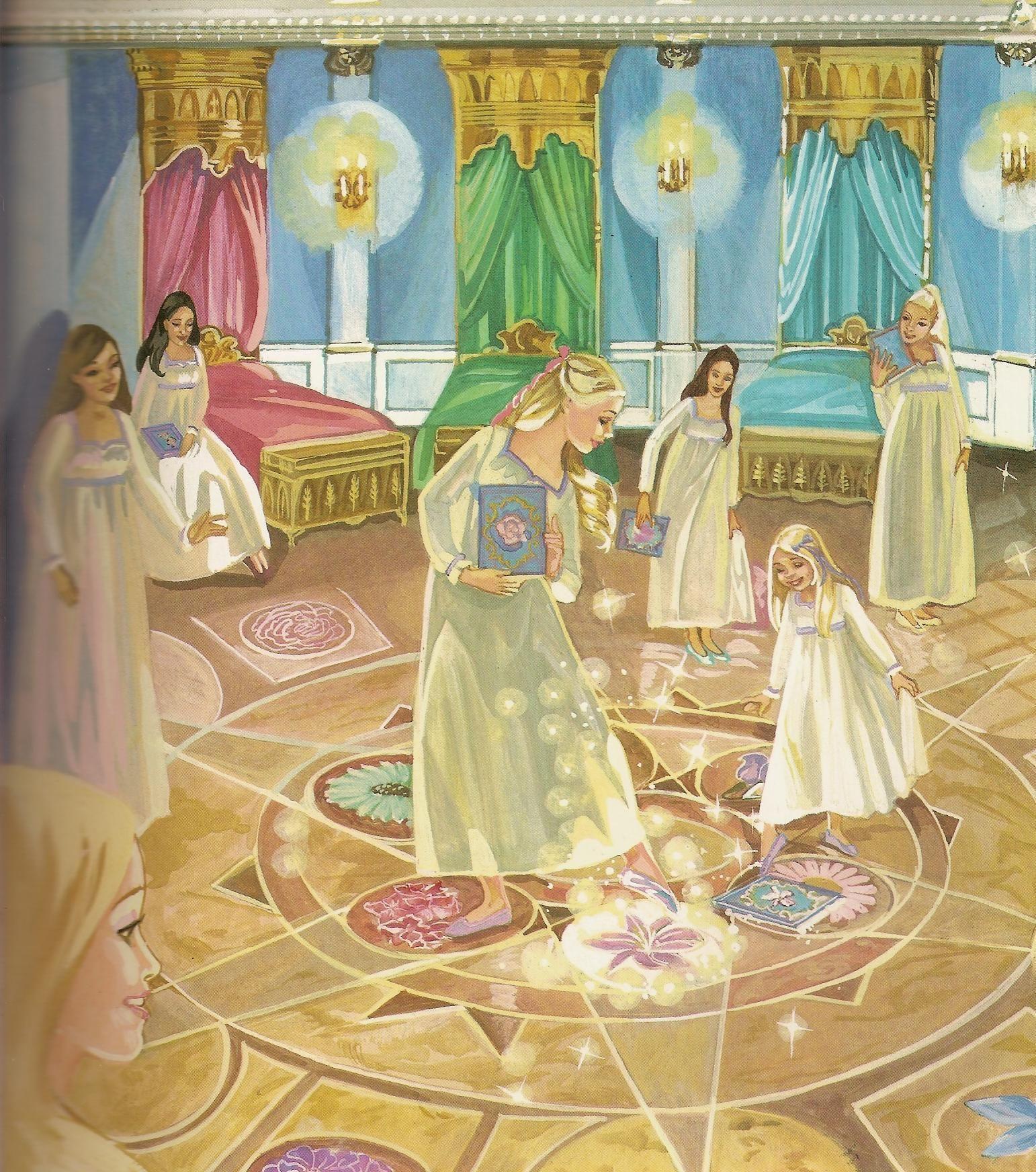 Barbie 12 dancing princesses lights camera barbie - Barbie 12 princesse ...
