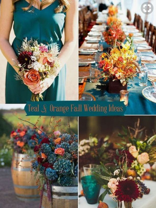 Ideas for Fun Colors for a Late September Wedding
