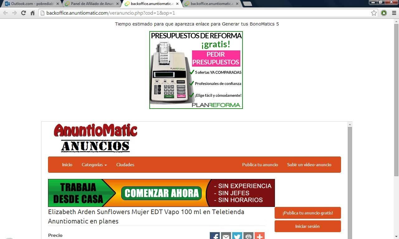 Como publicar los anuncios en Anuntiomatic...A por los 10.000 Bonomatics!