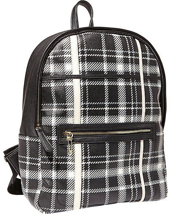 betsey johnson rad is plaid backpack - cuteness