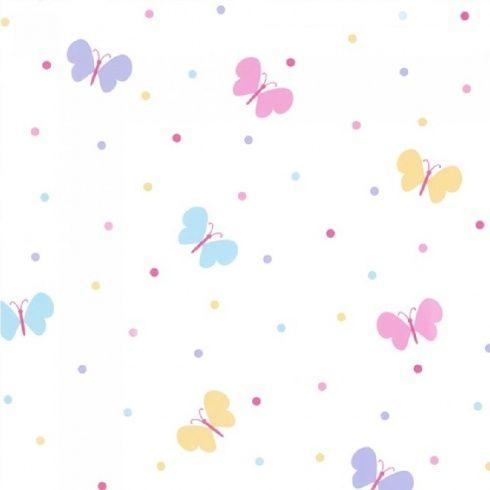Fine Decor Fun4walls Butterfly Garden Wallpaper Kids Room