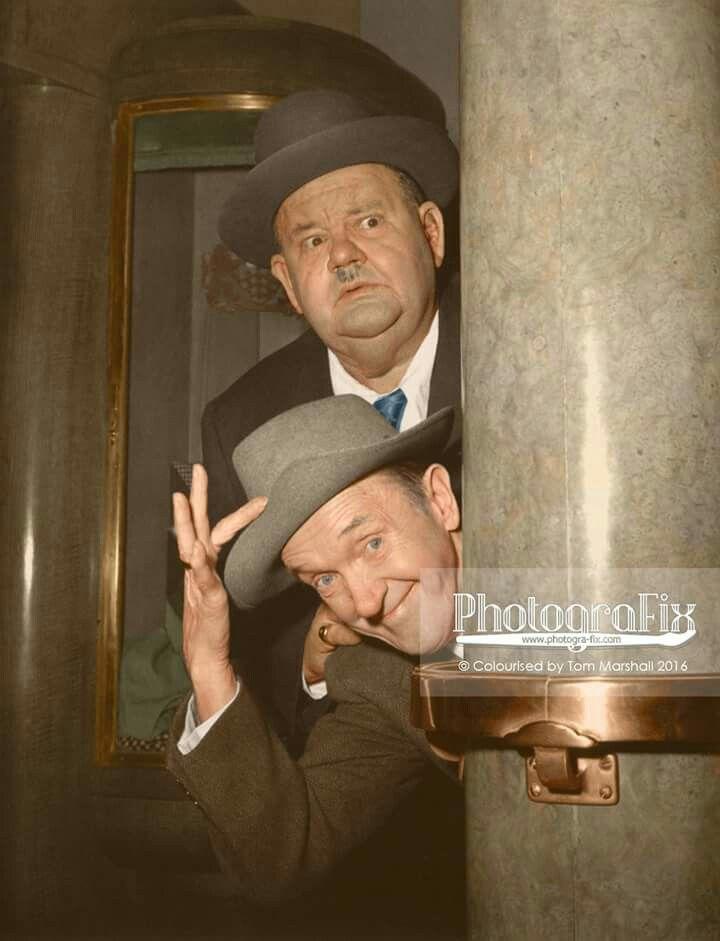 Laurel & Hardy in COLOR
