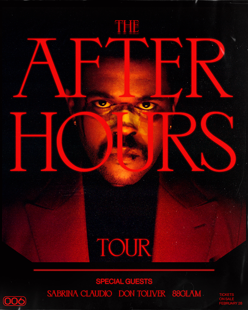 the weeknd announces after hours tour