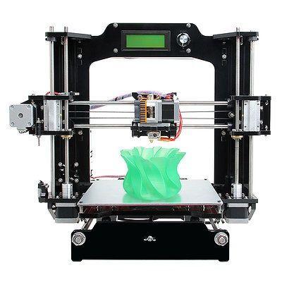 cool New 3D printer DIY Print 6 filament Full Acrylic Frame Prusa I3 ...