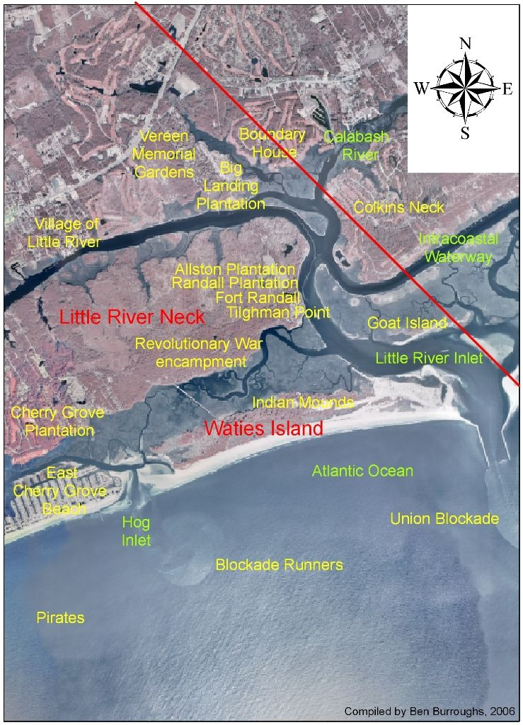 History Of Waties Island And The Little River Area Horry County