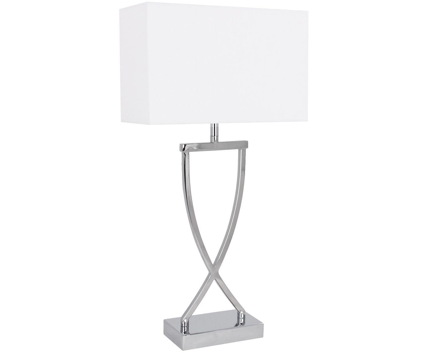 Grosse Klassische Tischlampe Vanessa In Silber Westwingnow Lampe Tischlampen Tischleuchte