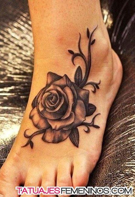 Tatuajes De Rosas Para Mujeres En Las Piernas 3 Tattoos Rose