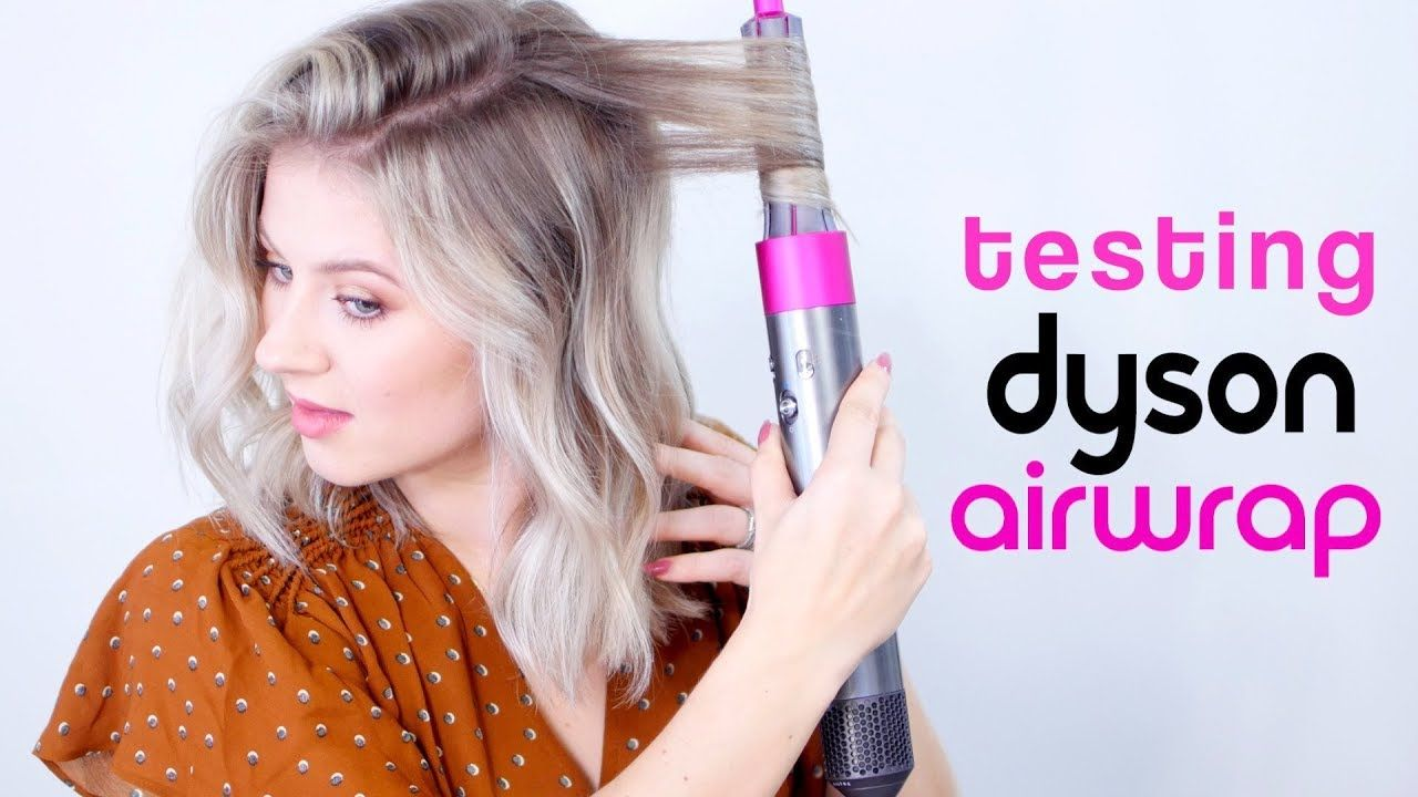 TESTING DYSON AIRWRAP, IT'S MAGICAL!! YouTube in 2019